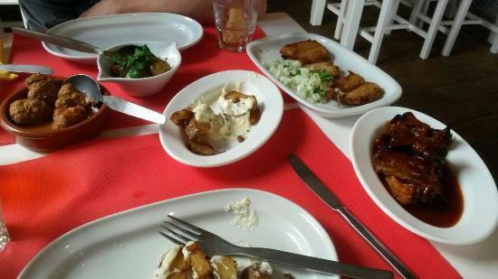 Meu limao Tapas & Wine Bar : Nice meal!