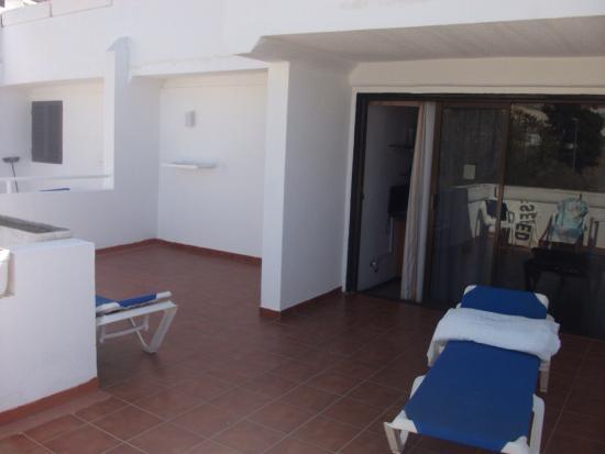 Rio Piedras Apartments: Photos of rooms / room terrace & view / pool / pool panoramic view / pool bar etc...