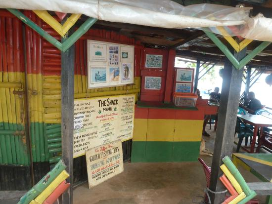 The Sunset Shack Cafe : The Shack