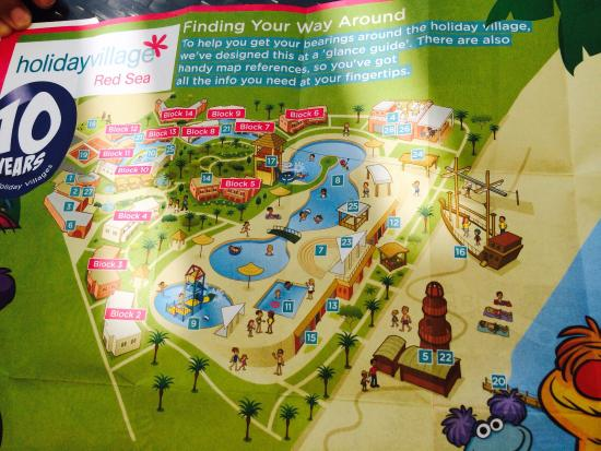 Holiday Village Red Sea Hotel Map Picture Of Coral Sea Holiday - Map of egypt holiday resorts