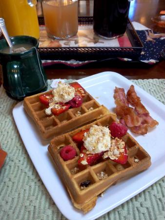 Old Parkdale Inn : Yummy breakfasts
