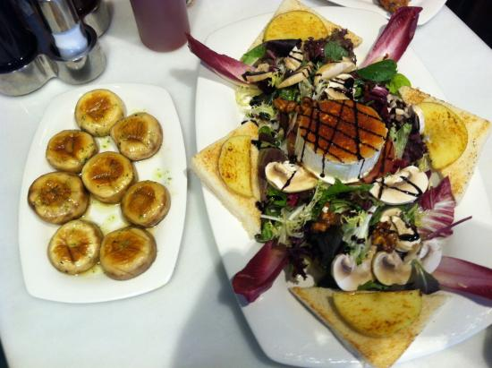 L'Orient Cafe: Mallorcan Goat Cheese with Honey