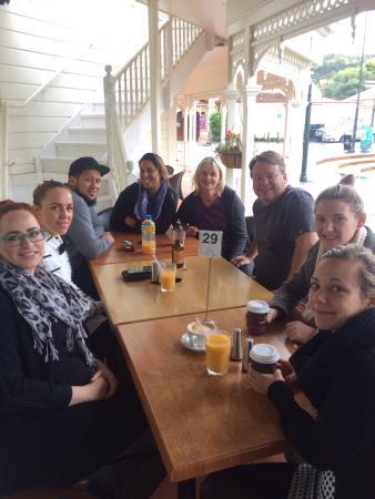 วานกาไร, นิวซีแลนด์: Wow massive meal for brunch / breakfast! Great coffee and service too thank you! Photo is of the