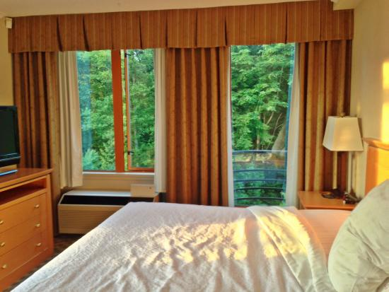 Holiday Inn Hotel & Suites North Vancouver: Extra windows with Corner room 522