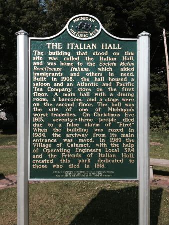 Italian Hall Site
