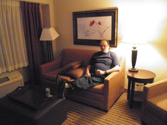 Homewood Suites Minneapolis - St Louis Park at West End : Living Room View