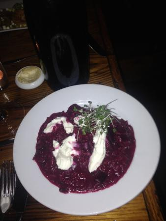 The Tailor and The Cook : Beets risotto