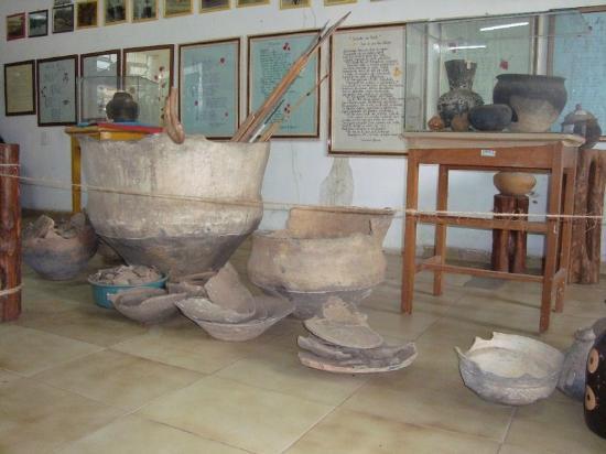 Itaituba, PA: peças indígenas de cerâmica
