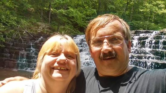 Laurel Hill State Park: my husband and i
