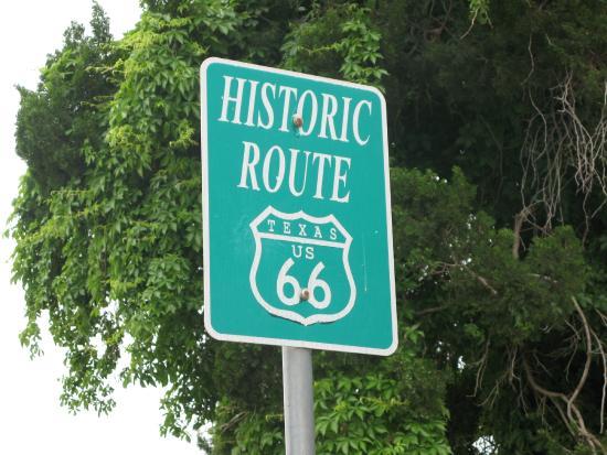 Route 66 Historic District: Rte 66