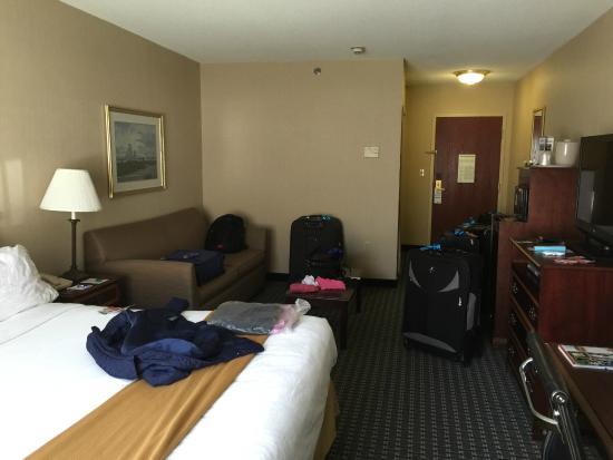 Holiday Inn Express Middletown / Newport : quarto