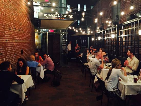 Good Russell House Tavern: Restaurant Downstairs. Bar Upstairs. And Outdoor  Sitting