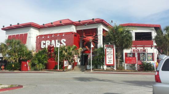 Crabs We Got Em Front Of Restaurant From Parking Lot