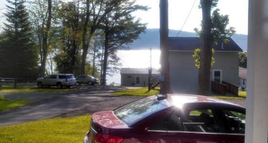 Bayside Inn & Marina : View from Cabin D