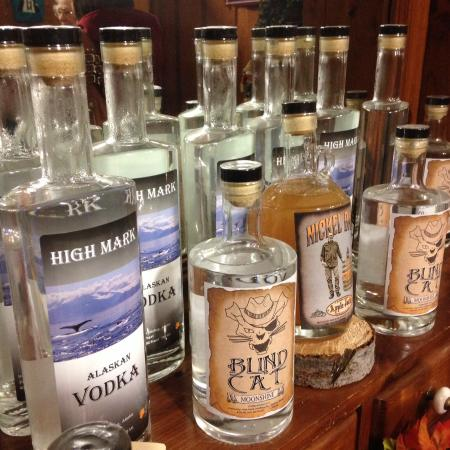 Sterling, AK: A sampling of spirits