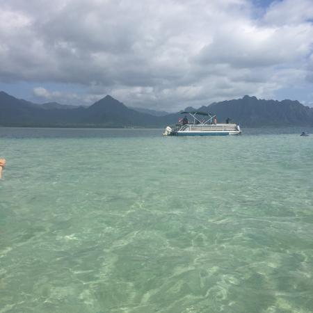 アウトドア・ハワイ ツアー 幻の島・サンドバー
