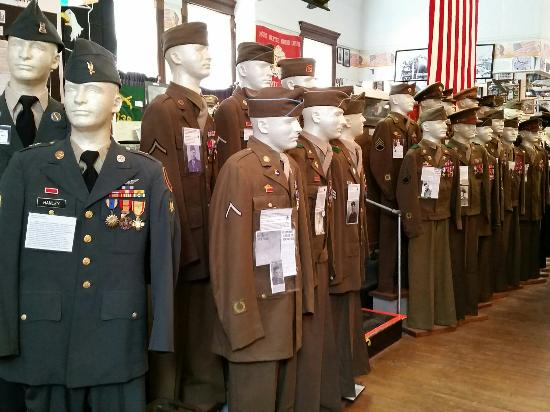 Livingston County War Museum: Honorable  tribute to those  brave soldiers.