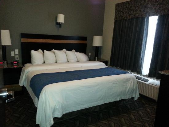 Comfort Inn & Suites Fort Saskatchewan: One Bedroom King Suite - King bed in bedroom