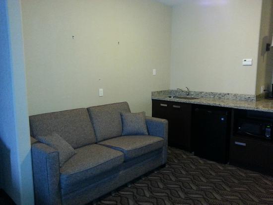 Comfort Inn & Suites Fort Saskatchewan: One Bedroom King Suite - Pullout