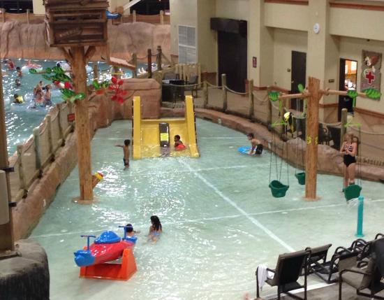 part of the indoor water park very humid picture of wyndham rh tripadvisor com