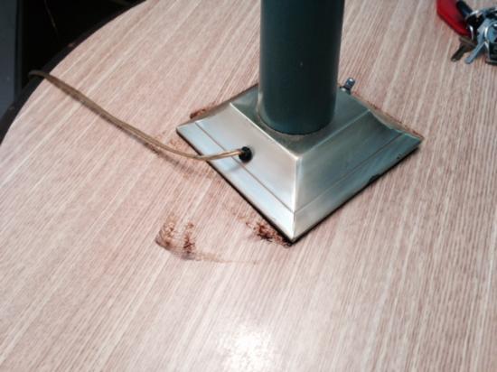 The Acorn: acorn lamp