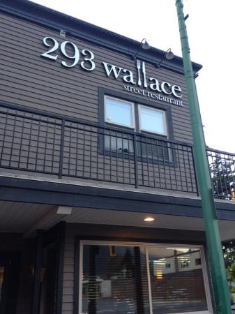 293 Wallace Street Restaurant: Location , just look for the address, which is also the name