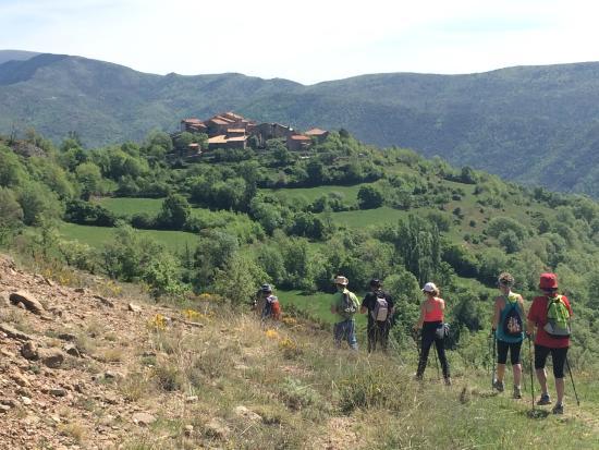 La Pobla de Segur, Spania: Diversión en grupo
