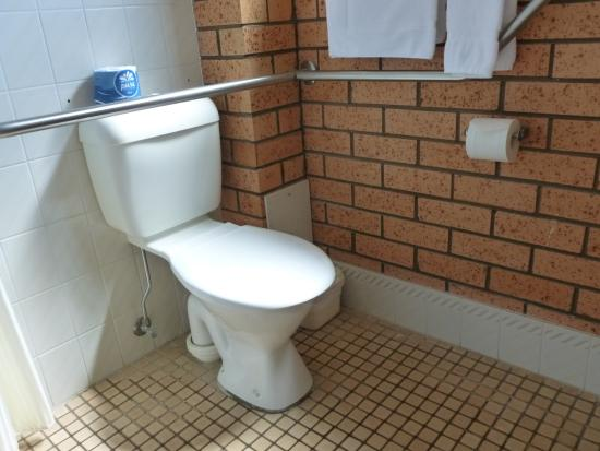 رويال بالمز موتور إن: Disability Bathroom