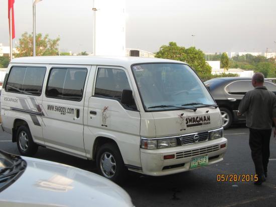 Swagman RPL Hotel Manila : Free Hotel pick-up van