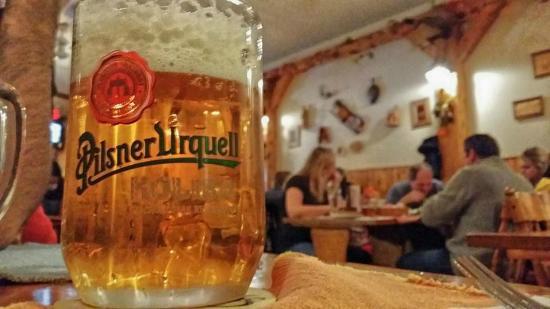Koliba Restaurant: The oldest lager