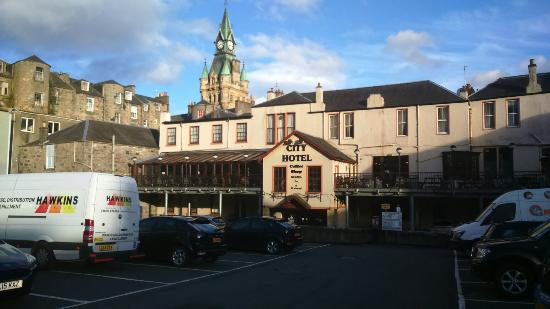 The City Hotel, Dunfermline.