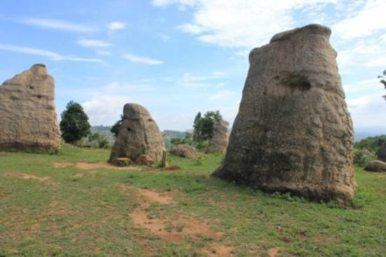 Chaiyaphum, Thailand: The elephant rocks