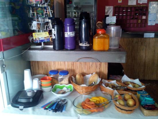 Adventure House: завтрак