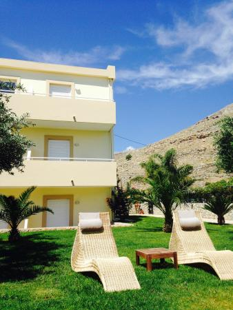 Lindos Blue Sky Studios and Apartments : Our room - middle floor