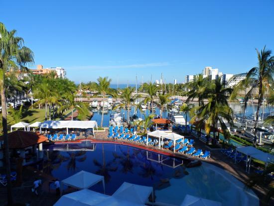 El Cid Marina Beach Hotel: Vista desde mi habitación