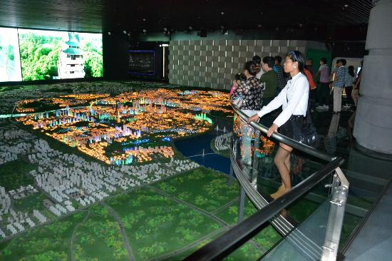Zhuzhou Planning Exhibition Hall: professionell und beeindruckend gemacht
