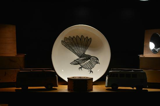 The Vault : Funky Jo Luping fantail plate