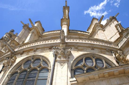Paris, Frankrike: Eglise Saint Eustache Coté Sud et style Baroque
