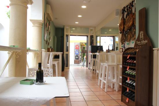 Gourmet Iberico: Emtrada principal 2