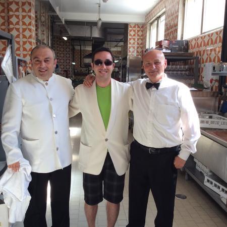 Pietra di Luna Hotel: My son having fun with the staff Rafael and Antonio