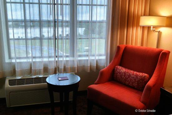 DoubleTree by Hilton Hotel Sterling - Dulles Airport: Poltrona, mais bela que confortável