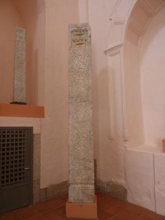 Museo Arqueologico de Arte Visigodo: Visigoth column, Museum of Visigoth Art, Merida