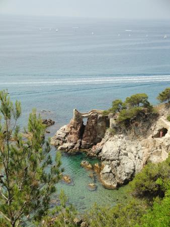 Ninays: Cliffside walk round Lloret de mar
