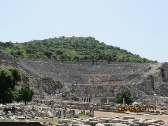 The ancient ruinsof Ephesus - Picture of Kusadasi Private ...