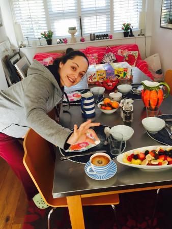 Spring Cottage Bed & Breakfast: Yummy! Breakfast!!!