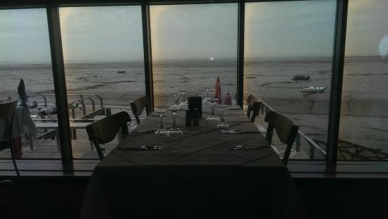 The Boatyard Restaurant : view from upper level