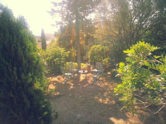 Cala di l'Oru: Jardin près de la piscine