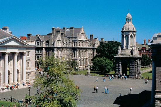 Photo of Trinity College Campus Dublin