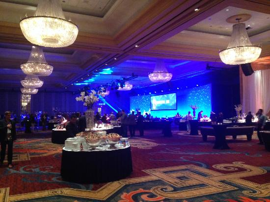 Hilton Anatole: Converted Conference Room for Evening Event