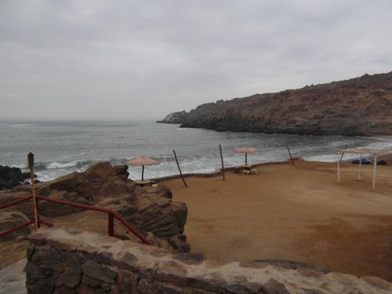 Hotel Puerto Inka: TRES BELLE VUE DE NOTRE CHAMBRE